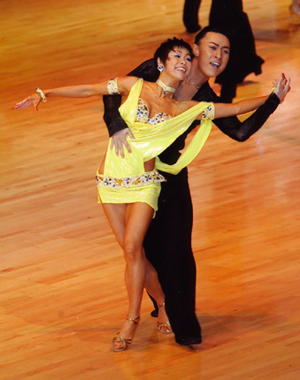 JBDFダンス選手権 Samba